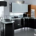 Acrylic-đen-kết-hợp-Laminate-vân-gỗ