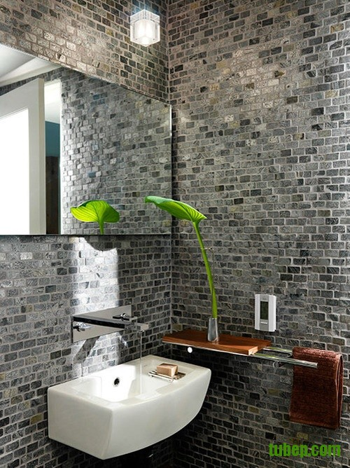 stylish-bathrooms-with-brick-walls-and-ceilings-12