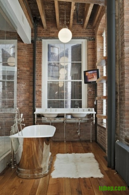 stylish-bathrooms-with-brick-walls-and-ceilings-2