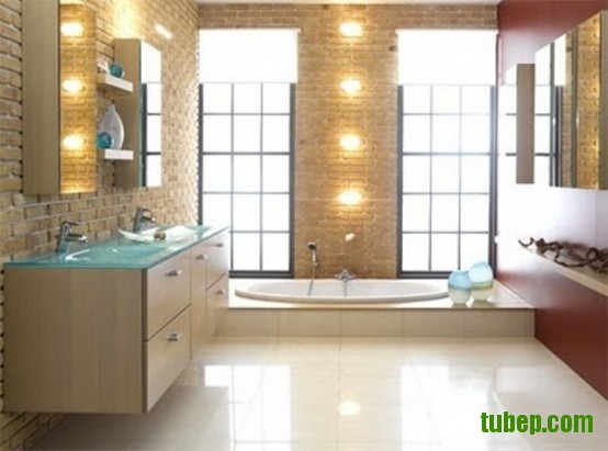 stylish-bathrooms-with-brick-walls-and-ceilings-23-554x411