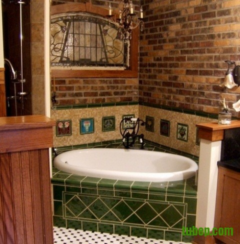 stylish-bathrooms-with-brick-walls-and-ceilings-44