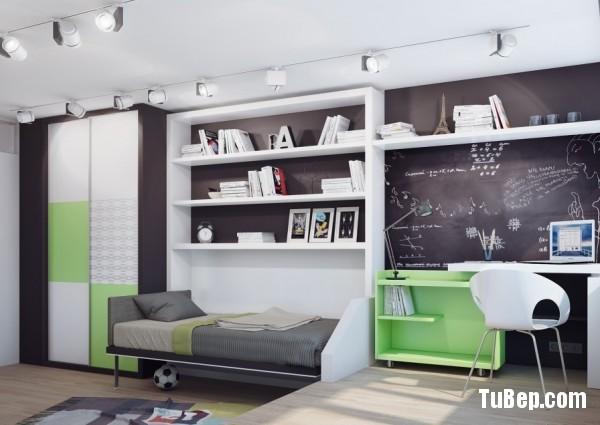 15-Green-white-teenage-bedroom-600x425