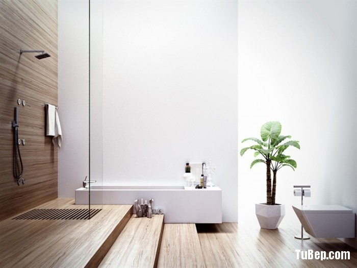 Modern-bathroom-with-wood-elements-700x525