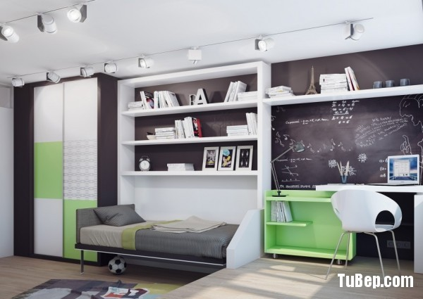 15-Green-white-teenage-bedroom-600x425
