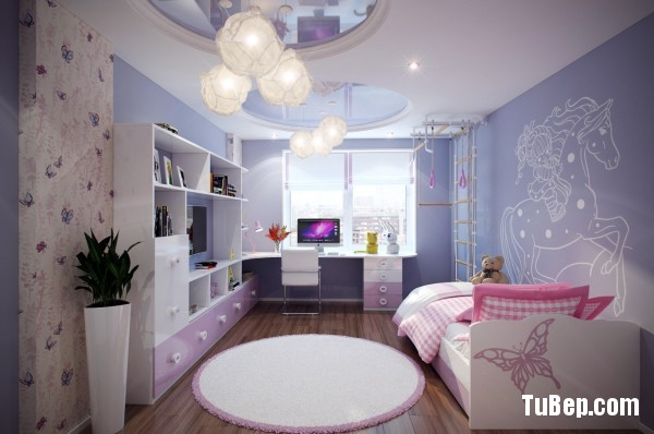 2-Purple-pink-kids-room-600x398