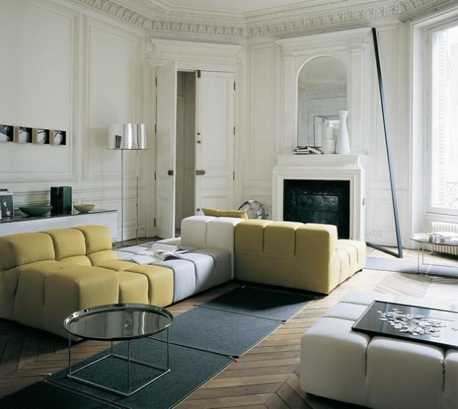 Yellow-white-sectional-sofa-665x594
