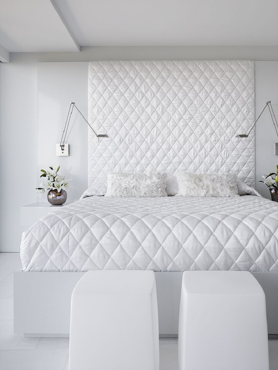 41 White Bedroom Interior Design Ideas Amp Pictures inside white apartment bedroom for Your property