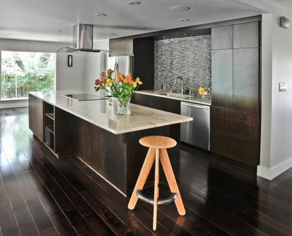 dark-wood-floors-modern-kitchen