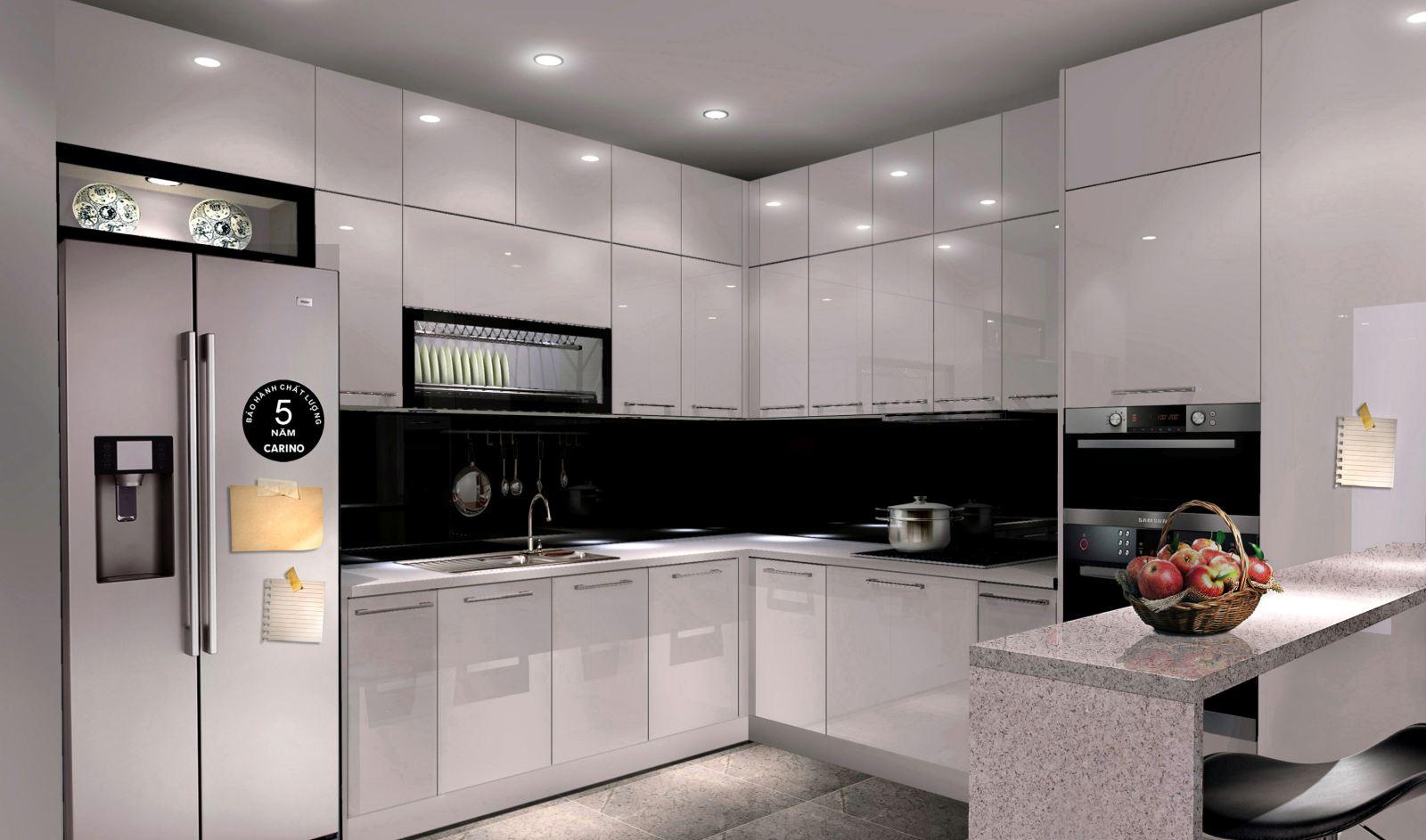 tủ bếp sang trọng 2